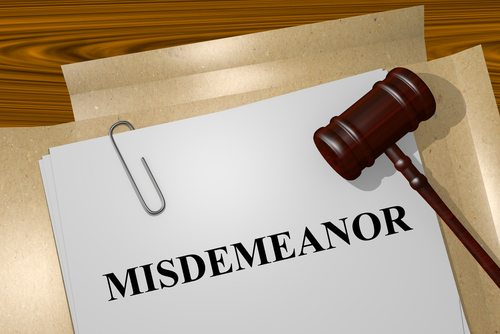 California Law: What is a Misdemeanor?